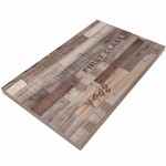 600X1200mm, Timber Veneer Table Top,Rectangular, Vintage Finish